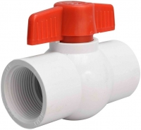 20mm PVC Ball Valve BSP Female Port T-Handle