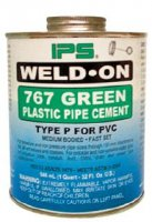 237ml PVC Green Solvent Cement