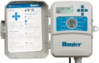 Hunter X2 8 Station Outdoor Plastic Cabinet Irrigation Controller