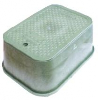 Valve Box Large Rectangle Heavy Duty Complete