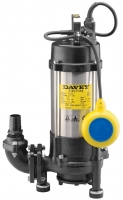 "Davey D120GA Automatic Sump Pump 1.2kW Grinder Model 240V 1 1/4"" Outlet"