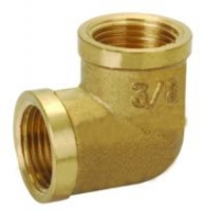 "3/4"" Brass F x F Elbow"