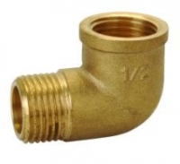 "3/4"" Brass M x F Elbow"