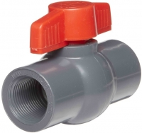 65mm PVC Ball Valve BSP Female Port T-Handle