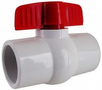 15mm PVC Ball Valve Slip Port T-Handle