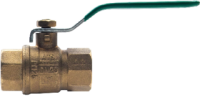 "1/2"" Brass Tested Ball Valve - Female"