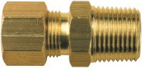 "3/4"" Brass Compression Union 3/4""uc x 3/4""MI"